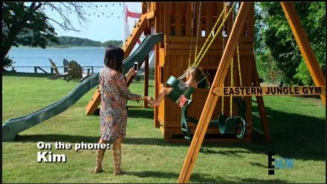 swing set on the kardashians