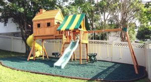 Wooden swing sets maintenance, swing set safety