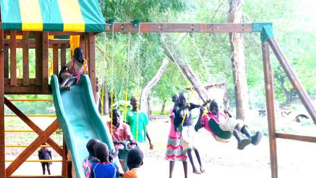 Swing Set at Terekeka Orphanage