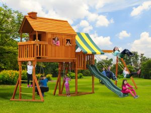 Fantasy Tree House Cabin Play Set