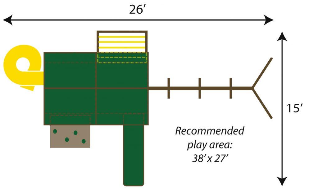 Sky Model 1 Footprint