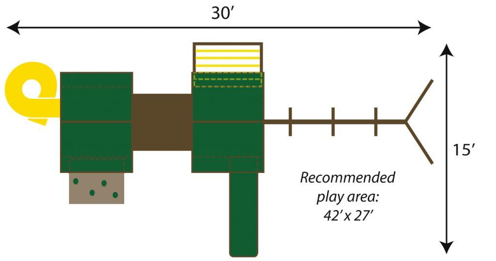 fantasy playset illustrated model