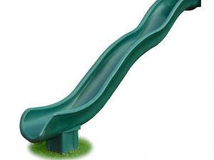 12 Foot Green Scoop Slide