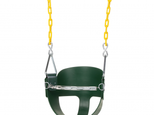 High Back Half Bucket Swing