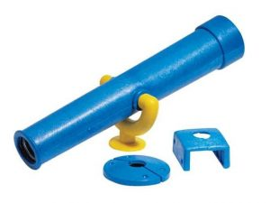 Blue Telescope Eastern Jungle Gym Swing Set Accessory