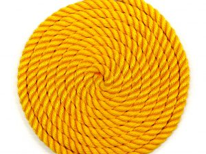 Yellow Backyard Playground Rope Braided