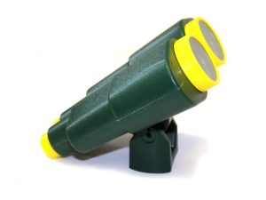 Jumbo Kids Plastic Binoculars Green and Yellow