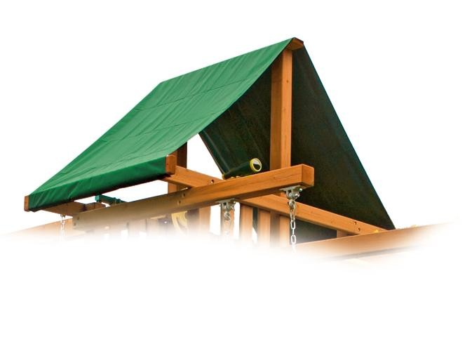 dreamscape green playset tent
