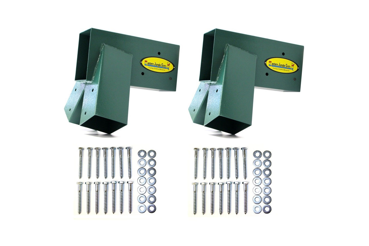 Easy 1-2-3 A-Frame Swing Set Bracket Kit (Pair)