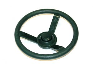 Childrens Playset Accessory Steering Wheel Green