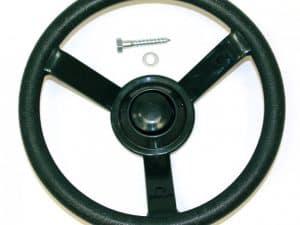 Green Plastic Steering Wheel