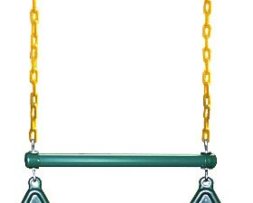 Gym Ring/Trapeze Bar Combo