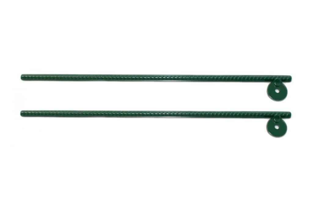 Heavy-Duty Steel Swing Set Anchors (Set of 2)