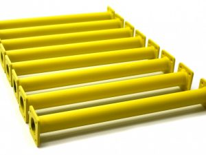 "Yellow Swing Set Monkey Bar Rungs 15-⅛"" Long (8-Pack DIY Kit)"