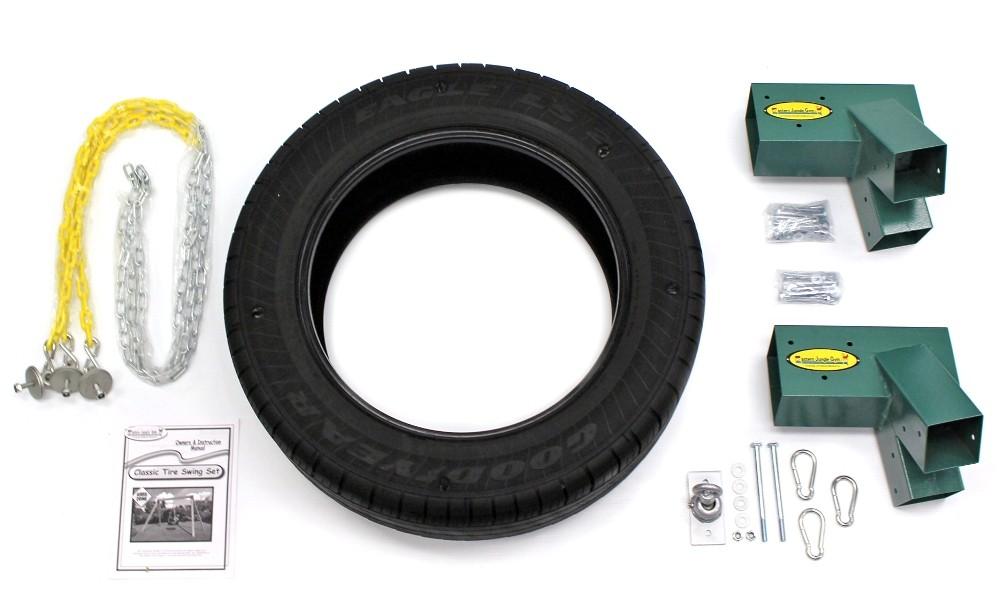 Classic Wooden Tire Swing Hardware Kit