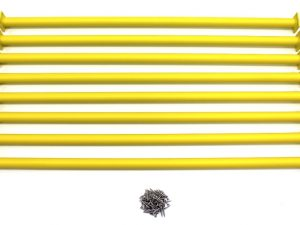 "Yellow Swing Set Monkey Bar/Ladder Rung 41"" Long (Pack of 8)"