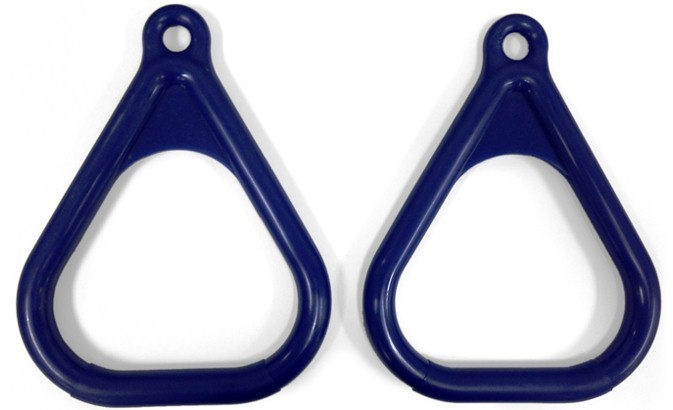 Plastic Gym Rings (Set of 2)