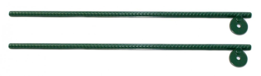 Heavy-Duty Steel Swing Set Anchors (Set of 2)