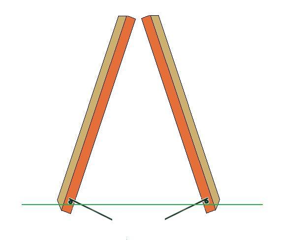 swing set anchor kit illustration