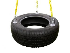 Tire swing from Eastern Jungle Gym