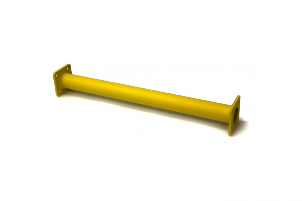 yellow monkey bar rung