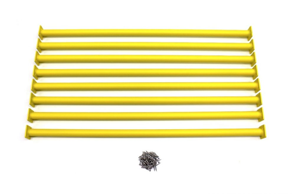 hardware for wooden swing sets to hang yellow rung ladders