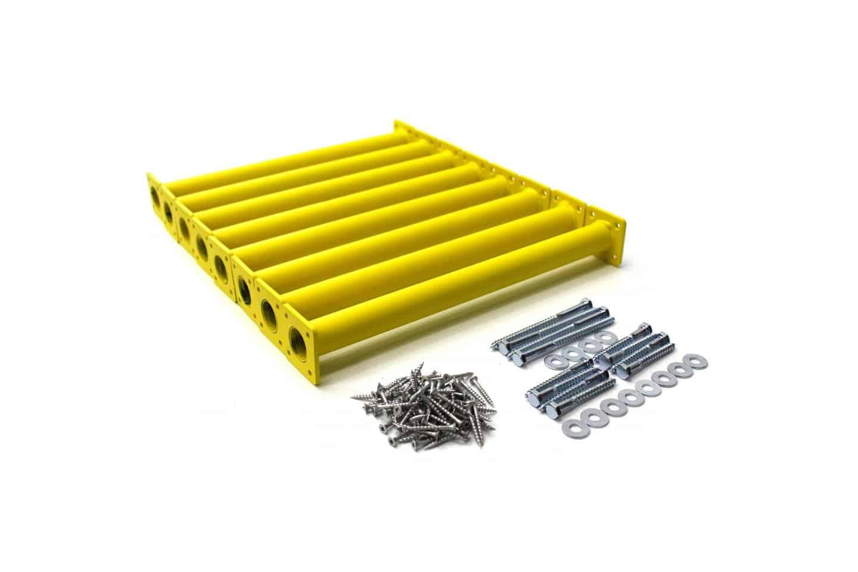 """Yellow Swing Set Monkey Bar Rungs 15-⅛"""" Long (8-Pack DIY Kit)"""
