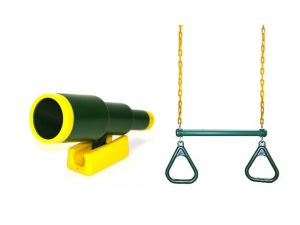 swing set accessories telescope and ring trap