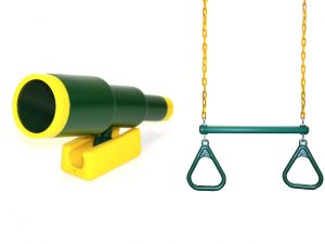 ring and telescope bundle for swing sets