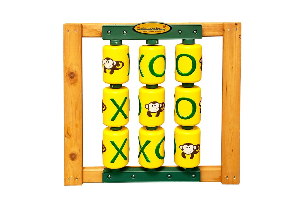 tic tac toe spinner for playset and swing set