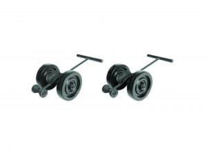 Black Shifting Wheels (2 Wheels)